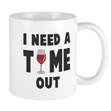 Time out wine Mugs