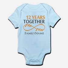 12th anniversary Infant Bodysuit