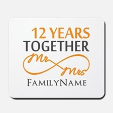 12th anniversary Mousepad