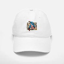 Captain America Retro Baseball Baseball Cap