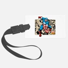 Captain America Retro Luggage Tag