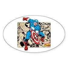 Captain America Retro Decal