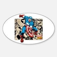 Captain America Retro Decal