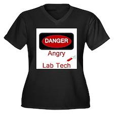 Cute Medical laboratory tech Women's Plus Size V-Neck Dark T-Shirt