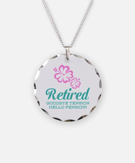Funny retirement Necklace