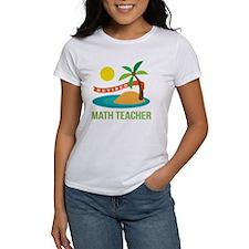 Retired Math teacher Tee