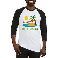 Retired Math teacher Baseball Jersey