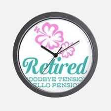 Funny retirement Wall Clock