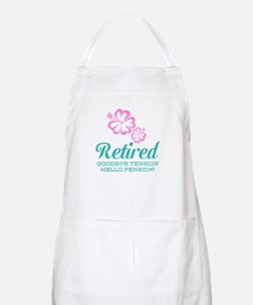 Funny Retirement Apron For Retired Women