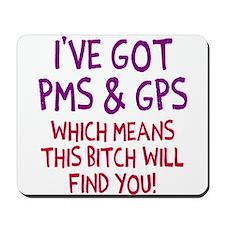 PMS GPS Mousepad