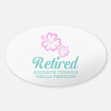 Funny retirement Decal