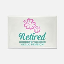 Funny retirement Magnets