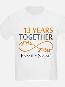 13th anniversary wedding T-Shirt