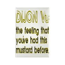 Dijon Vu Rectangle Magnet