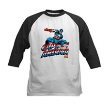 Captain America Logo Tee