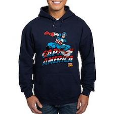Captain America Logo Hoodie