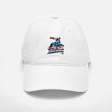 Captain America Logo Baseball Baseball Cap