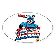 Captain America Logo Decal