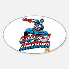 Captain America Logo Decal