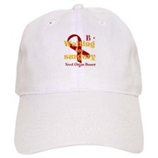 Personalize Blood type Baseball Cap