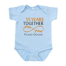 15th anniversary Infant Bodysuit