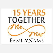15th anniversary Invitations