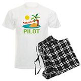 Pilot retirement Men's Pajamas