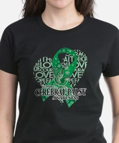 Cerebral Palsy Hope Love Bird Tee