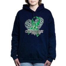 Cerebral Palsy Hope Love Women's Hooded Sweatshirt