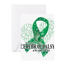 Cerebral Palsy Hope Love Greeting Cards (Pk of 10)