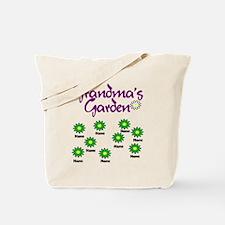 Grandmas Garden 9 Tote Bag
