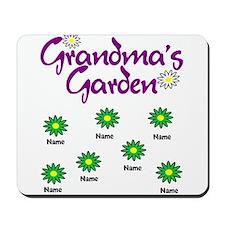 Grandmas Garden 7 Mousepad