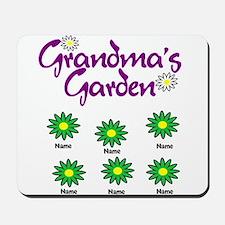 Grandmas Garden 6 Mousepad