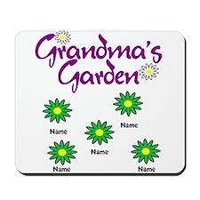 Grandmas Garden 5 Mousepad