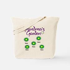 Grandmas Garden 5 Tote Bag