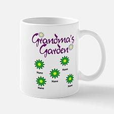 Grandmas Garden 5 Mugs