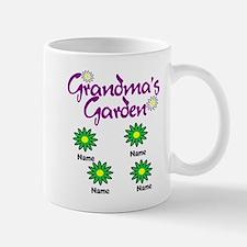 Grandmas Garden 4 Mugs