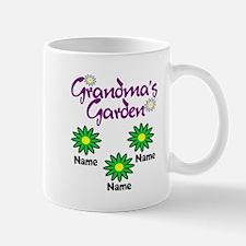 Grandmas Garden 3 Mugs