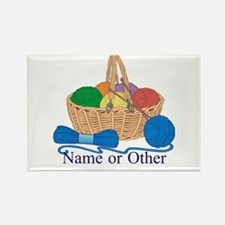 Personalized Knitting Magnets