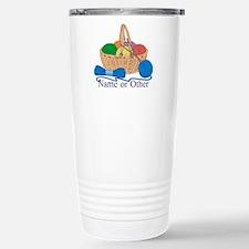 Personalized Knitting Travel Mug
