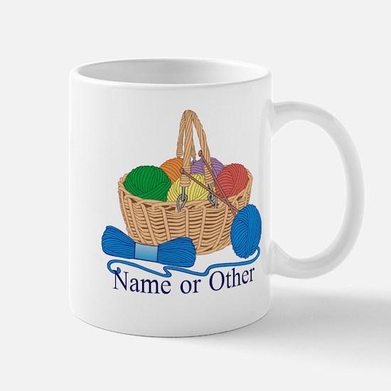 Personalized Knitting Mugs