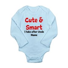 Cute & Smart Uncle Body Suit