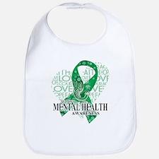 Mental Health Love Hope Bird Bib