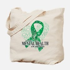 Mental Health Love Hope Bird Tote Bag
