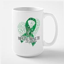 Mental Health Love Hope Bird Mug