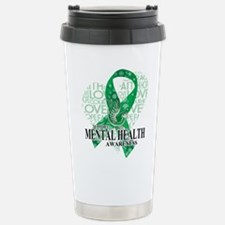 Mental Health Love Hope Travel Mug