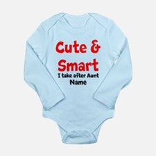 Cute & Smart Aunt Body Suit