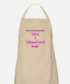Todays Look Apron