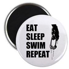 Eat Sleep Swim Repeat Magnets