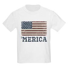'Merica Flag Vintage T-Shirt